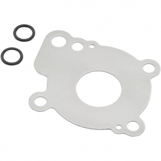 Drag Specialties Oil Pump Replacement Partition Plate & O-Ring Set For 1999-2011 96 Inch Twin Cam Applications (88724)