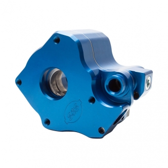 S&S M8 High Volume Oil Pump in Blue Anodized Finish For 2018-2020 Softail, 2017-2020 Touring (With Air/Oil Cooled Engines) Models (310-0959A)