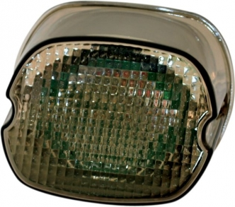 Custom Dynamics L.E.D. Lay Down Taillight With Smoke Lens For Harley Davidson Motorcycles (GEN2-LD-S)