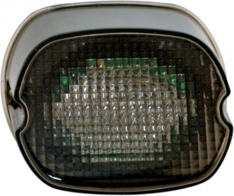 Custom Dynamics L.E.D. Lay Down Taillight In Black With Smoke Lens For Harley Davidson Motorcycles (GEN2-LD-S-B)
