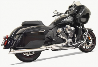 Bassani Road Rage 2 Into 1 Exhaust System In Chrome For Indian 2020 Challenger Models (8H18S)