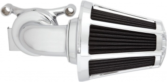 Arlen Ness Beveled Monster Sucker Air Cleaner in Chrome Finish For 2018-2020 Softail, 2017-2020 Touring, 2017-2020 Trikes (Including Both 107 Inch & 114 Inch Engines. Excluding Touring With Fairing With Lower Speakers) Models (81-031)