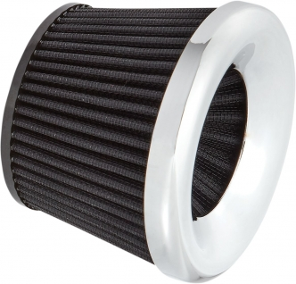 Arlen Ness Replacement Filter Element In Chrome For Velocity 65 Degree Air Cleaner Kits (81-209)